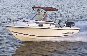 Cape Craft Salt Water Fishing Boats. Available at Tri-State Marine